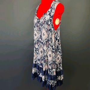 Caroline Morgan Size 14 Sleeveless Dress Floral